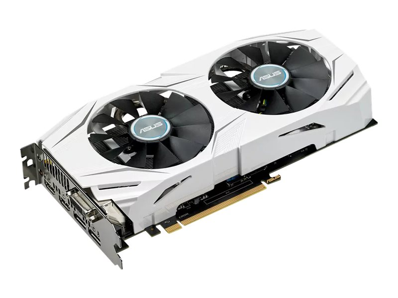 Asus AMD Radeon RX 480 PCIe 3.0 Graphics Card, 4GB GDDR5, DUAL-RX480-4G