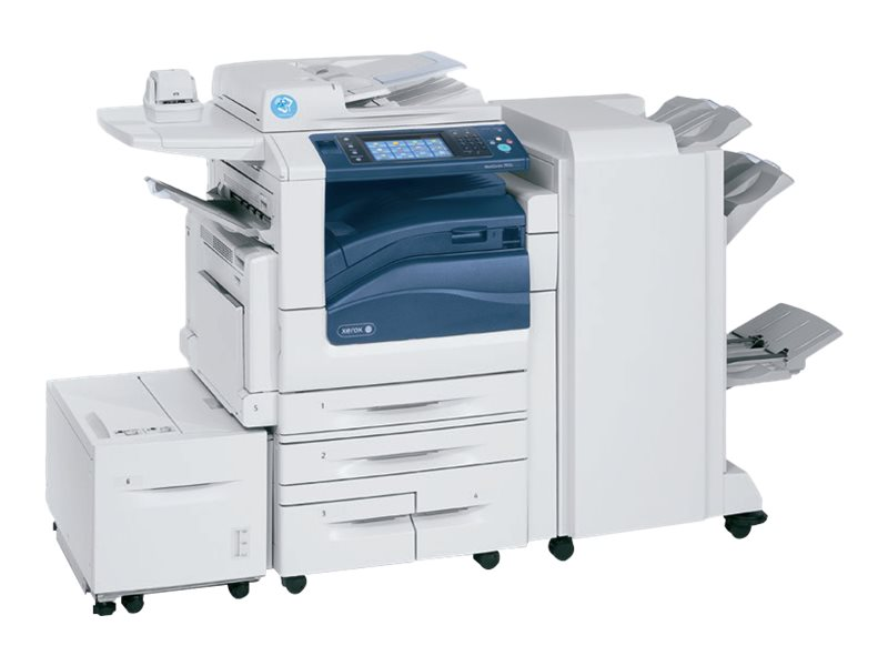 Xerox WorkCentre 7855I MFP w  High Capacity Tandem Tray, 7855/PT2I, 31854156, MultiFunction - Laser (color)