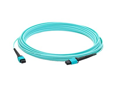 ACP-EP MPO-MPO M M OM4 Crossover 12-Fiber LOMM Patch Cable, 30m