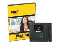 Wasp WaspTime v7 Standard with Barcode Clock, 633808550004, 5498012, Software - Human Resources Management