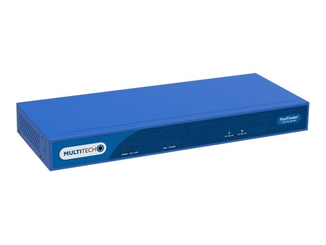 Multitech 2-Port V.34 Analog Fax Server w US Accessory Kit, FF240.R1, 30623663, Fax Servers