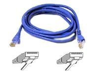 Belkin FastCAT 5e Patch Cable, Blue, Snagless, 14ft, A3L850-14-BLU-S, 110706, Cables