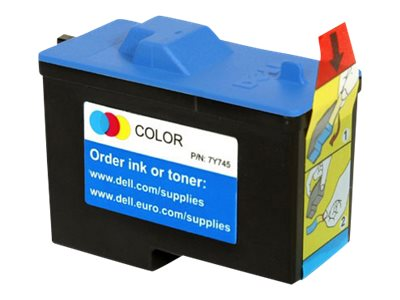 Dell Color Series 2 Ink Cartridge for Dell All-in-One Printer A940 (330-0048), 7Y745, 17099553, Ink Cartridges & Ink Refill Kits