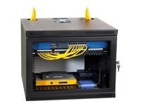 Kendall Howard 8U Security Wall Rack Enclosure, 1915-3-100-08, 8262494, Racks & Cabinets