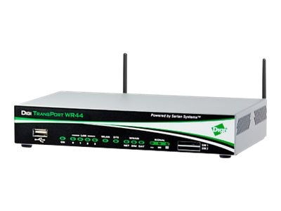 Digi Transport WR44 RR Router, LTE North America Carrier, WR44-L500-CE1-XH