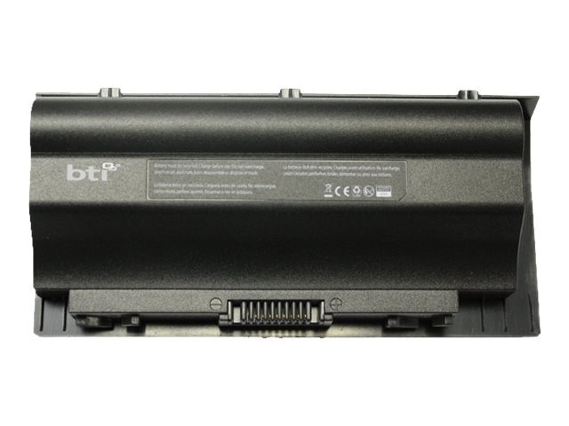 BTI 8-Cell Battery for ASUS G75 0B11000070000, A42-G75-BTI
