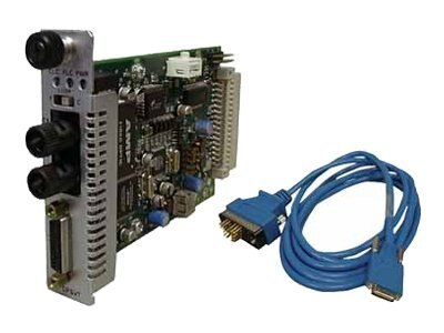 Transition Remote Managed High Speed Serial 26-Pin to 1550NM TX  1310NM RX SM SC, CPSVT2629-101, 8484417, Network Transceivers