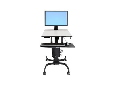 Ergotron WorkFit-C, Single HD Sit-Stand Workstation, 24-216-085, 13138341, Ergonomic Products