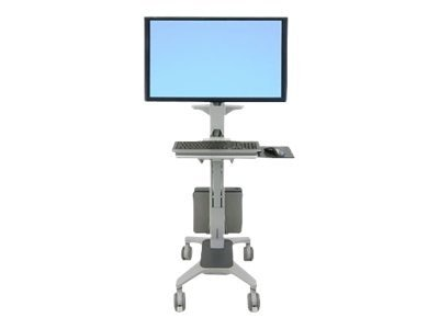 Ergotron Neo-Flex WideView WorkSpace, Two-Tone Gray, 24-189-055, 9356716, Computer Carts