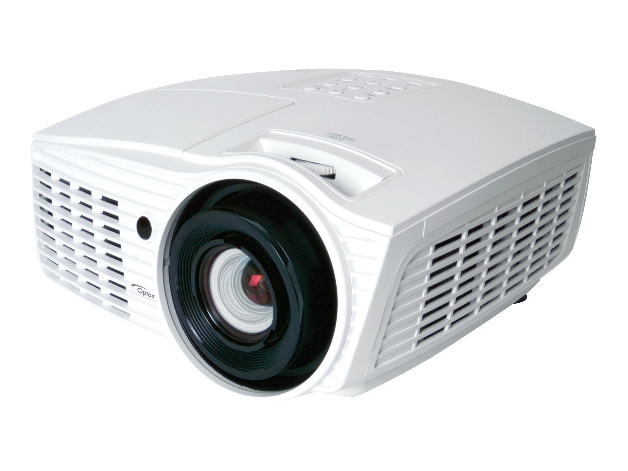 Optoma HD37 Full HD 3D DLP Projector, 2600 Lumens, White