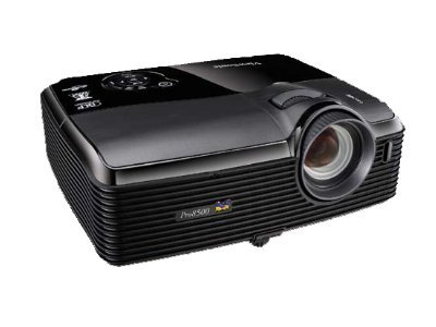 ViewSonic Pro8500 3D-Ready XGA DLP Projector with Speakers, 5000 Lumens