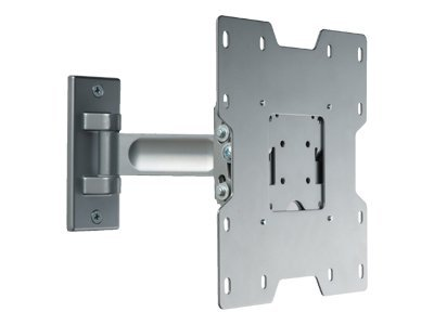 Peerless Pivot Wall Mount for Flat Panels 22-40in, Silver, PP740-S, 8446411, Stands & Mounts - AV