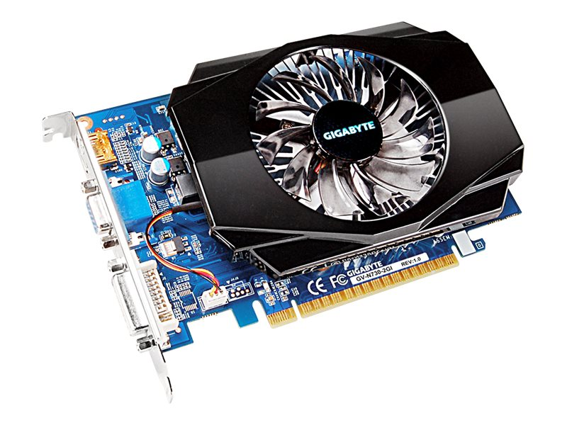 Gigabyte Tech GeForce GT 730 PCIe 2.0 Graphics Card, 2GB DDR3