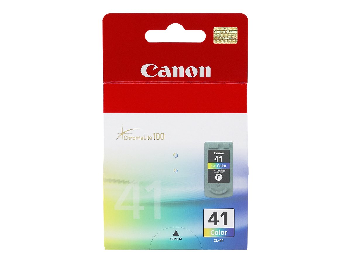 Canon Color CL-41 Ink Tank for PIXMA iP1600 & PIXMA MP170 Printers, 0617B002, 6034560, Ink Cartridges & Ink Refill Kits