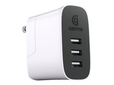 Griffin Powerblock Universal 30 Watt, White, NA40468, 30611401, Battery Chargers