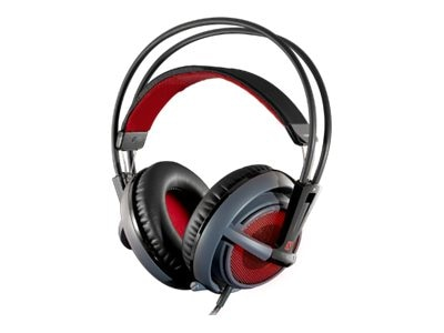 Steelseries Siberia v2 DOTA 2 Edition Headphones, 51143, 17017992, Headsets (w/ microphone)