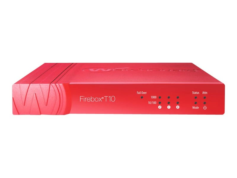 Watchguard Firebox T10 with LiveSecurity (1 Year), WGT10001-US, 16913146, Network Firewall/VPN - Hardware