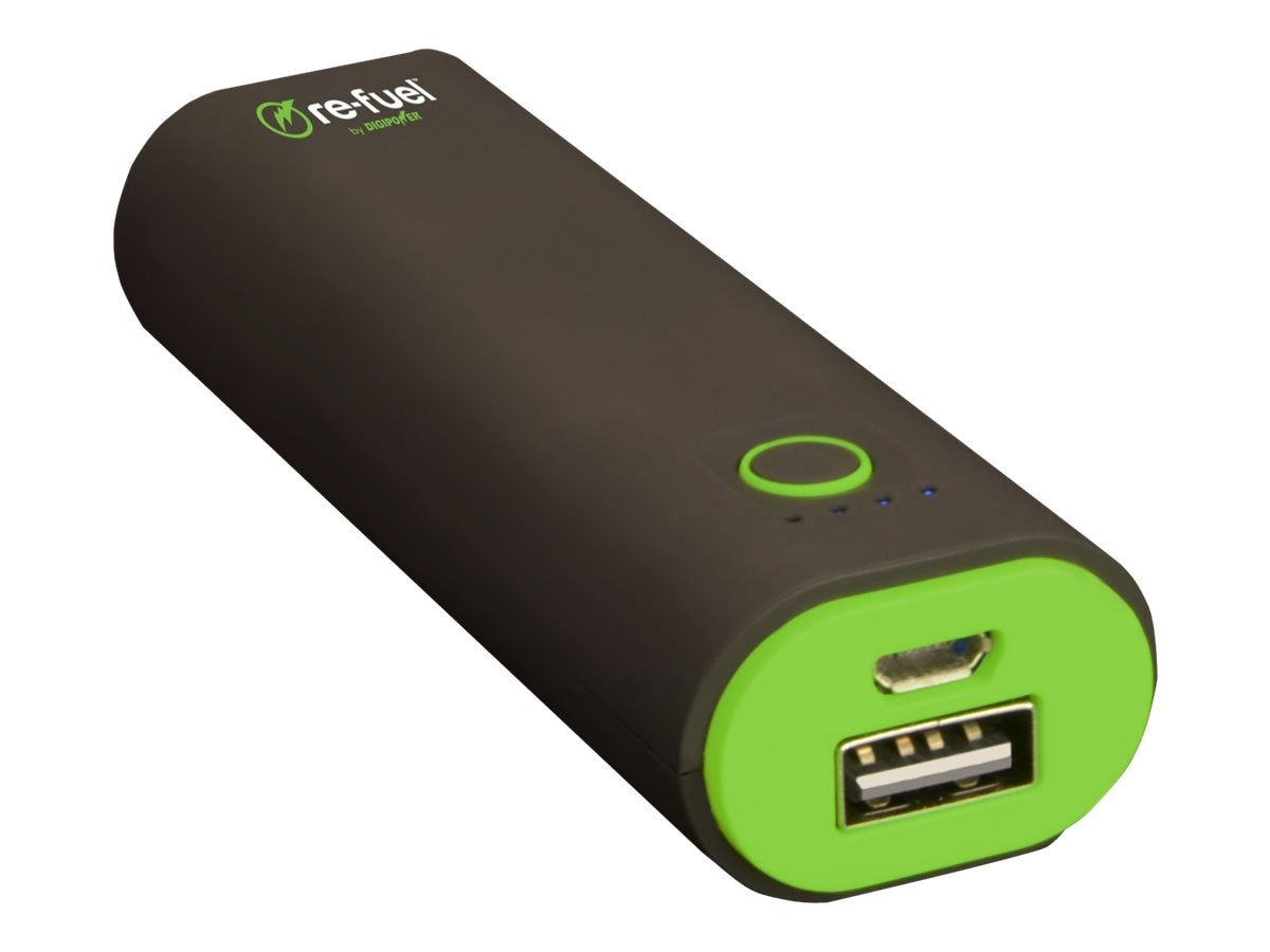 Re-Fuel 2600mAh Power Bank, RF-A26