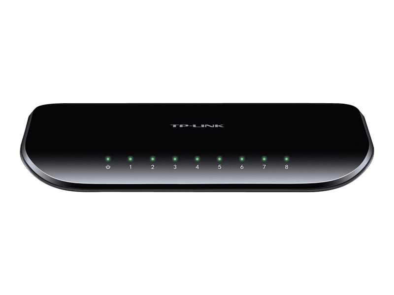 TP-LINK 8-Port 10 100 1000Mbps Gigabit Desktop Switch, TL-SG1008D