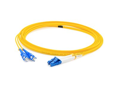 ACP-EP LC-SC 9 125 Singlemode Fiber Cable, Yellow, 5m, ADD-SC-LC-5MS9SMF