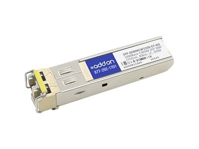 ACP-EP 1000BASE-CWDM SFP For Juniper 1550NM SMF 80KM LC, SFP-GE80KCW1550-ETAO