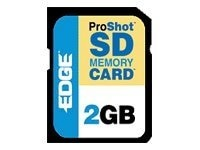 Edge 2GB ProShot SD Flash Memory Card, 130X, PE201265, 6005953, Memory - Flash