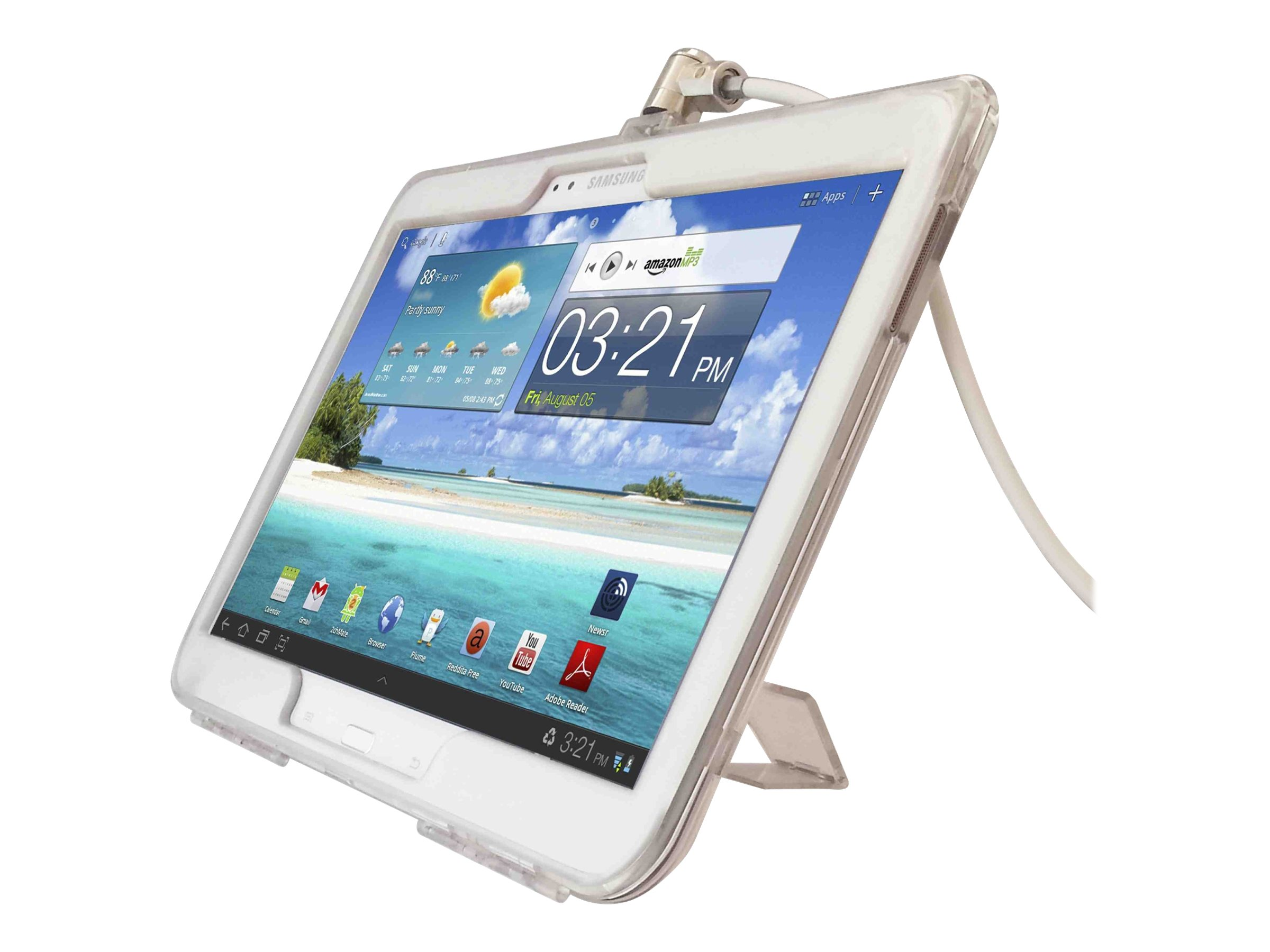 Compulocks Security Case Bundle for Galaxy Tab 3, GT3BUN, 16900011, Security Hardware