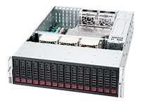 Supermicro 3U Chassis, DP, 16x3.5 Bays, 1200W RPSU, CSE-936E26-R1200B, 11924604, Cases - Systems/Servers
