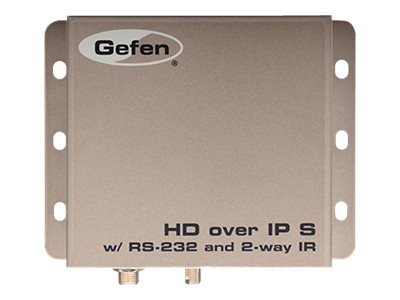 Gefen HDMI Over IP with RS232 and Bi-Directional IR Sender Unit, EXT-HD2IRS-LAN-TX, 17812208, Video Extenders & Splitters