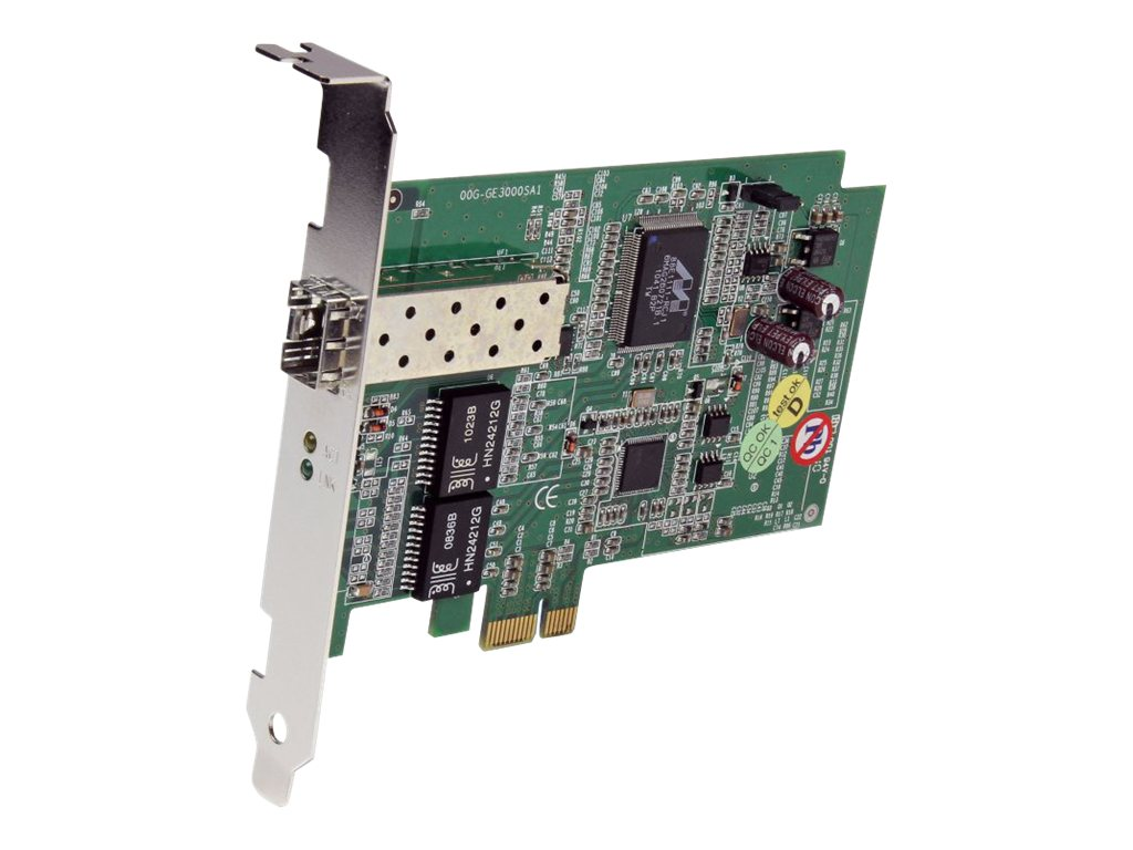 StarTech.com PCI Express Gigabit Ethernet Fiber Open SFP Network Card, PEX1000SFP2