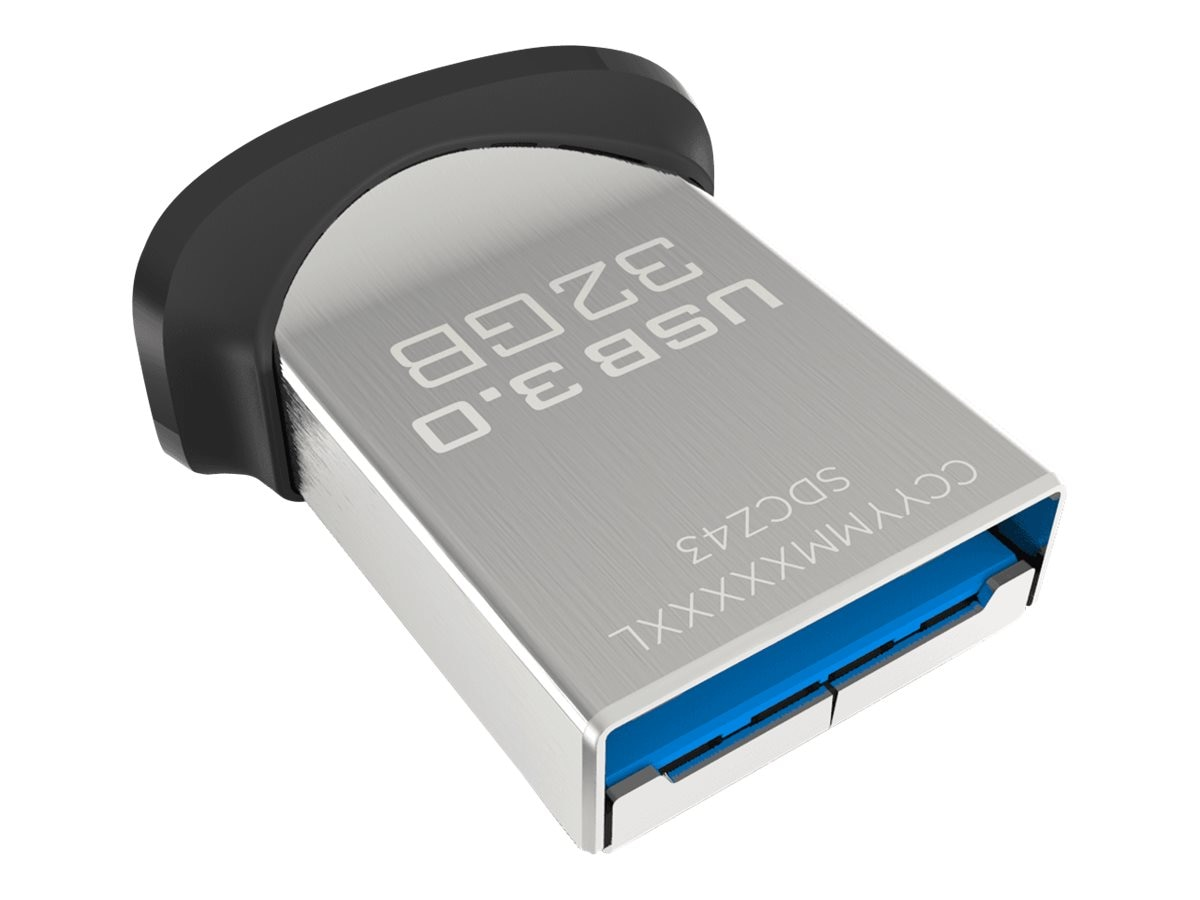 SanDisk 32GB Ultra Fit USB 3.0 Flash Drive, SDCZ43-032G-A46