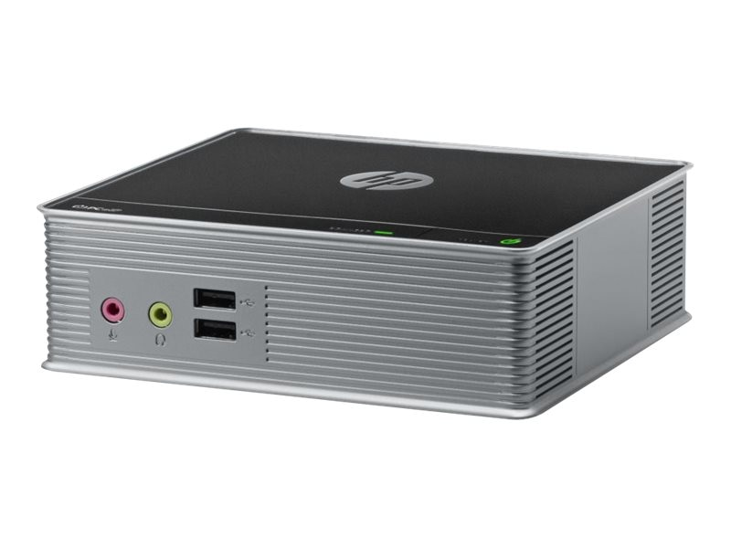 HP t310 Zero Client Tera 2321 512MB RAM 256MB Flash 100 Mbps Fiber NIC SmartZero, C3G79AA#ABA, 14851287, Thin Client Hardware