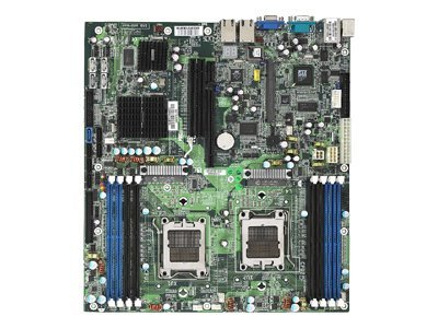 Tyan Motherboard, NFP3600, Dual Opteron 2000, EATX, Max 32GB DDR2, 2PCIEX16, 2GBE, Video, SATA, S2912G2NR-E