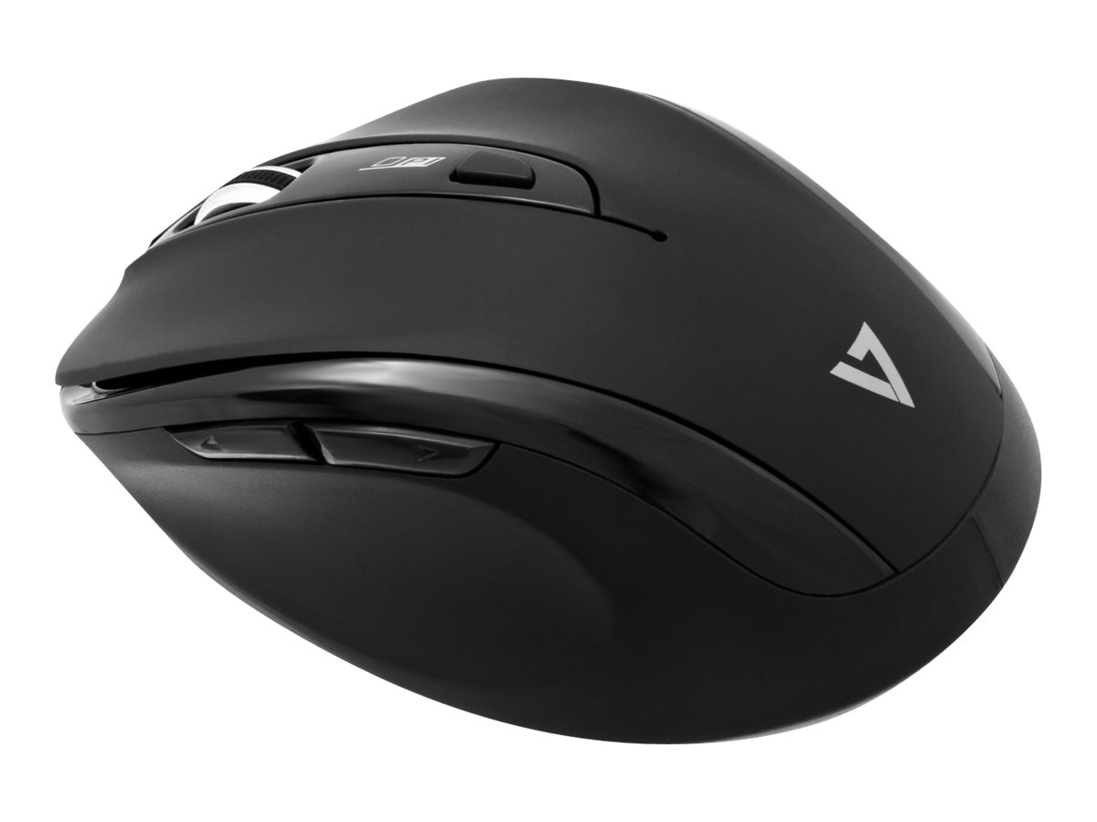 V7 Wireless Mouse 6-Button 1000 1200 1600dpi