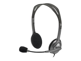 Logitech Stereo Headset H151, 981-000587, 21089024, Headsets (w/ microphone)
