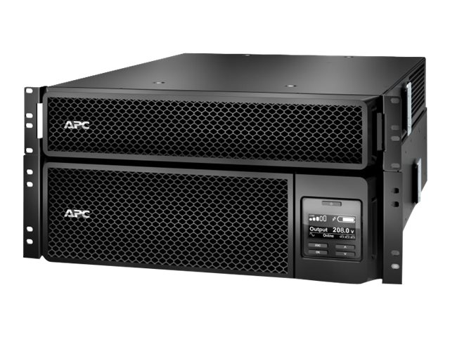 APC Smart-UPS SRT 5000VA RM 208V to 120V 2U, Step-Down Transformer, Extended Runtime, SRT5KRMXLT-5KTF, 30590101, Battery Backup/UPS