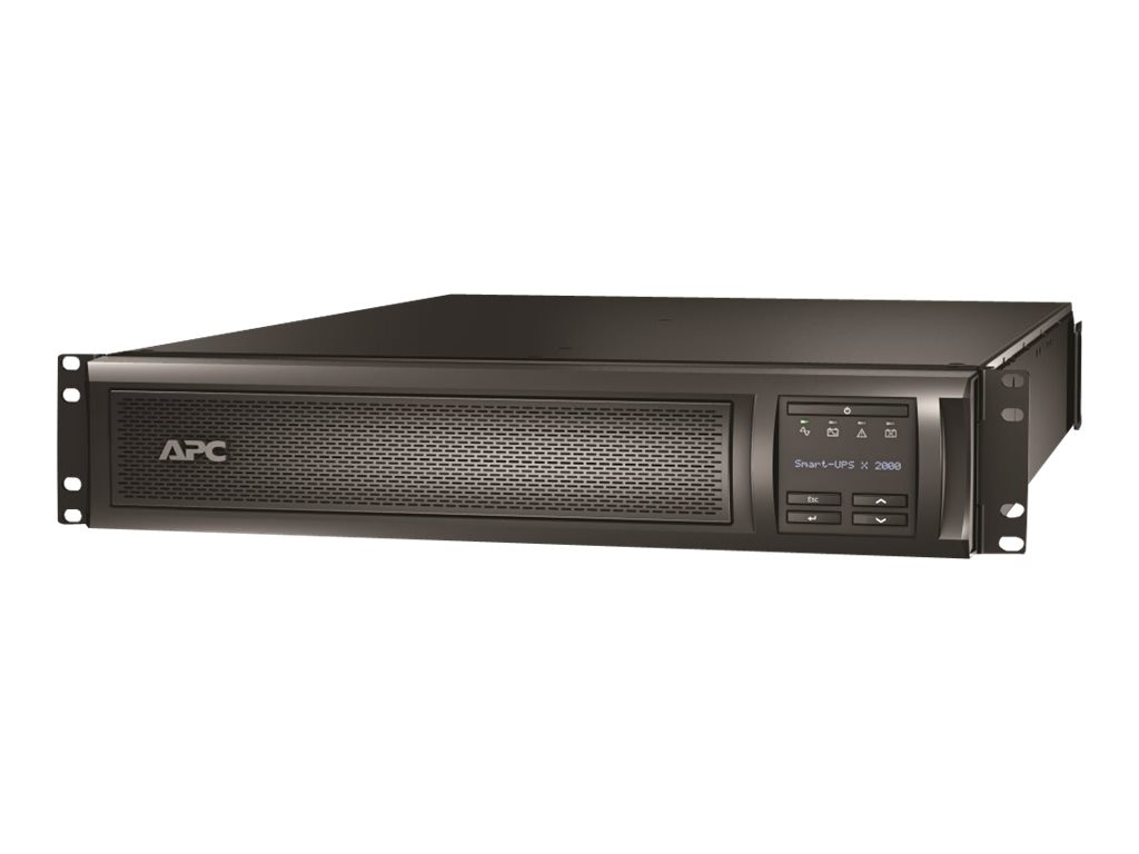 APC Smart-UPS X 2000VA 100-127V 2U Rack Tower LCD, Extended Runtime Model, SMX2000RMLV2U, 12327334, Battery Backup/UPS