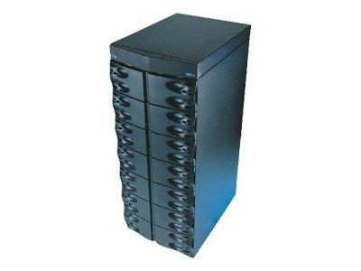Liebert 12-Bay Extended Battery Cabinet for Nfinity, 3 Battery Modules Installed, N900E0300000, 6702468, Battery Backup Accessories