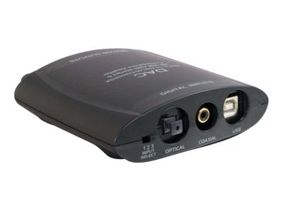 C2G Digital to Analog Audio Converter (DAC), 28733, 419956, Adapters & Port Converters