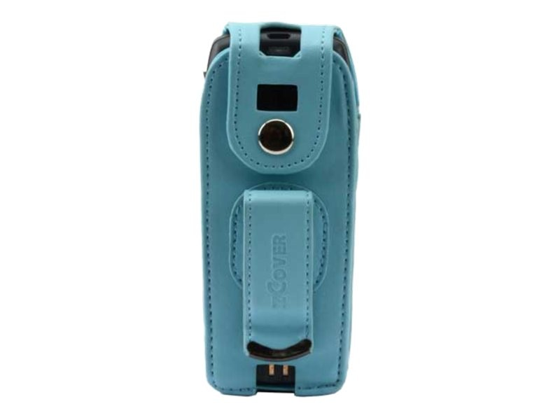 Zcover Tech-Leather Dock-in-Case w  Fixed Metal Clip for 7925G 7925G-EX, Blue, CI925LJL