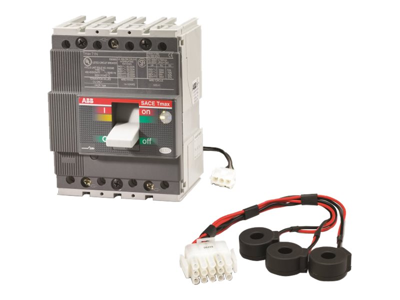 APC 4-Pole Circuit Breaker 60A T1 Type for Symmetra PX250 500kW, PD4P60AT1B, 10177310, Battery Backup Accessories