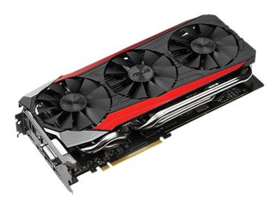 Asus Radeon R9 390X Overclocked Graphics Card, 8GB GDDR5, STRIXR9390XDC3OC8GD5, 26838725, Graphics/Video Accelerators