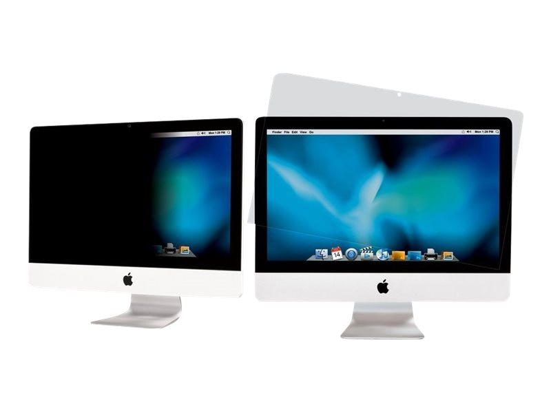 3M 21.5 Privacy + Anti-Glare Filter for iMac Display, PFIM21V2, 15659537, Glare Filters & Privacy Screens
