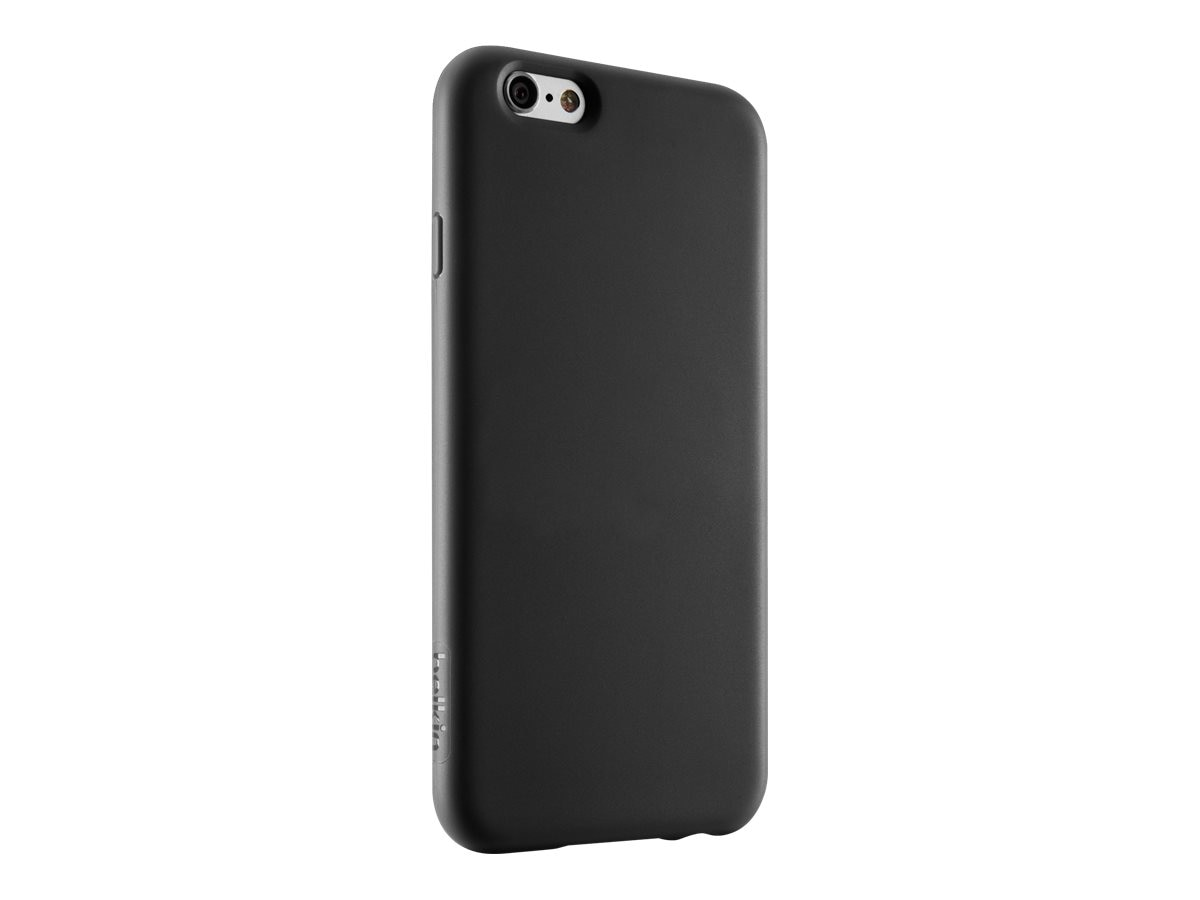 Belkin Grip Case for iPhone 6, Blacktop, F8W604BTC00