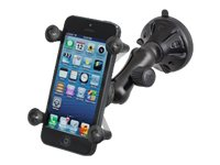 Ram Mounts Composite Twist Lock Suction Cup Mount with Universal X-Grip Cell Phone Cradle