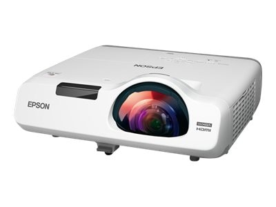 Epson PowerLite 525W WXGA 3LCD Projector, 2800 Lumens, White, V11H672020, 18101168, Projectors