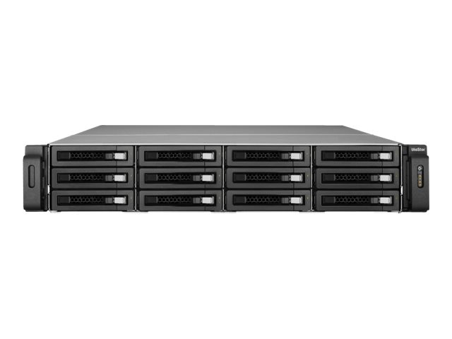 Qnap 64-Channel 2U 12-Bay Pro+ VioStor NVR, VS-12164U-RP-PRO+-US, 31270151, Video Capture Hardware