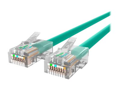 Belkin Cat6 Non-Booted UTP Patch Cable, Green, 12ft, A3L980-12-GRN