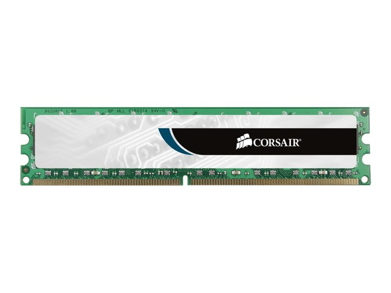 Corsair 1GB PC2-4200 240-pin DDR2 SDRAM DIMM, VS1GB533D2, 5477406, Memory