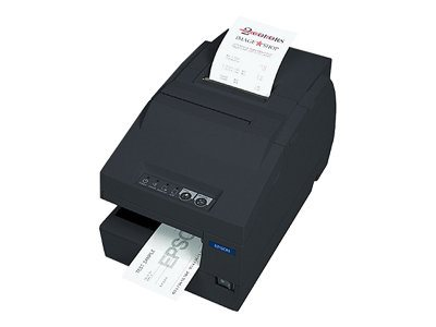 Epson TM-6000III USB Multifunction Printer w MICR & Drop-in Validation, C31C625A8831, 8444474, Printers - POS Receipt